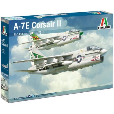 VOUGHT A-7 E CORSAIR II 1/72 - Italeri 1411