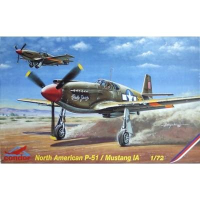 NORTH AMERICAN P-51 A MUSTANG 1/72 - Condor C72015