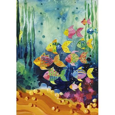 PUZZLE 1000 PZS SHOAL OF FISH - HEYE 29779