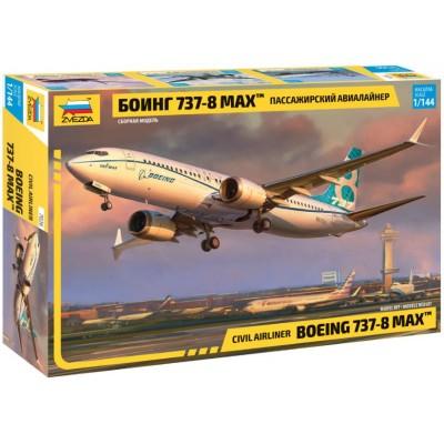 BOEING 737-8 MAX 1/144 - Zvezda 7026