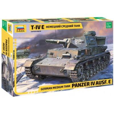 CARRO DE COMBATE Sd.Kfz. 161 Ausf. E PANZER IV E 1/35 - Zvezda 3641