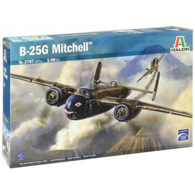 NORTH AMERIAN B-25 G MITCHELL 1/48 - Italeri 2787