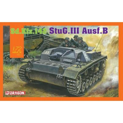 CAÑON DE ASALTO STUG III Ausf B 1/72 - Dragon 7559