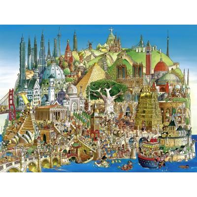 PUZZLE 1500 PZS GLOBAL CITY - HEYE 29364