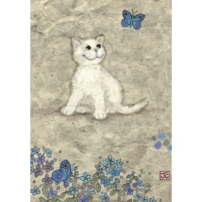 PUZZLE 500 PZS WHITE KITTY - HEYE 29626