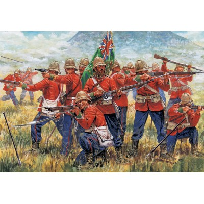 INFANTERIA BRITANICA (Guerra Zulu 1.879)