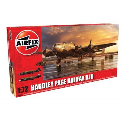 HANDLEY PAGE HALIFAX B.MK-III 1/72 - Airfix A06008