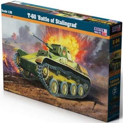 CARRO DE COMBATE T-60 Stalingrado 1/35 - Mister Hobby Kraft 050047