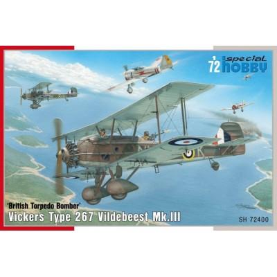 VICKERS VILDEBEEST MK-III 1/72 - Special Hobby SH72400