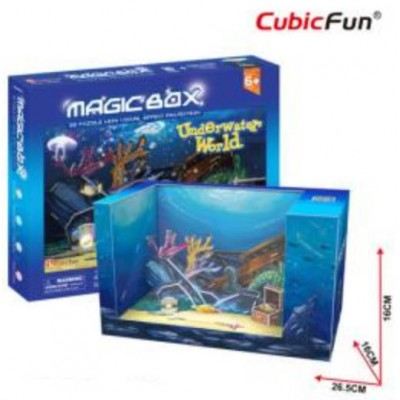 PUZZLE 3D UNDERWATER WORLD CUBIC FUN OM3603
