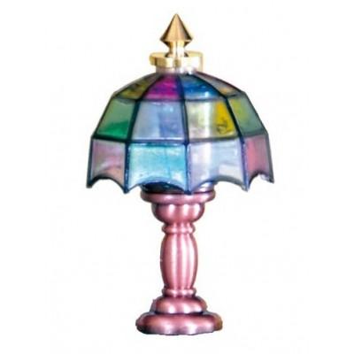 LAMPARA DE SOBREMESA TIFFANY PETIT HOUSE 47062