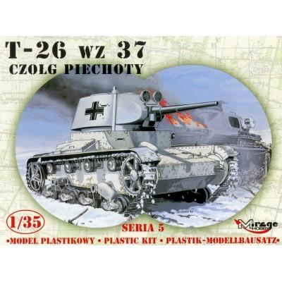 CARRO DE COMBATE T-26 (r) 1/35 - Mirage Hobby 355008
