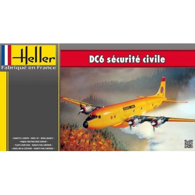 DOUGLAS DC-6 Securite Civil 1/72 - Helle 80330