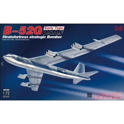 BOEING B-52G Stratofortress (Palomares) Broken Arrow 1966 - 1/72 Modelcollect UA72207