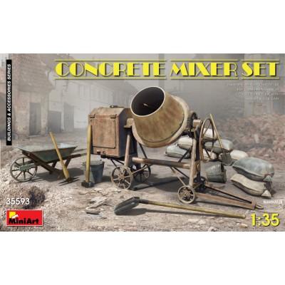 SET HORMIGONERA 1/35 - MiniArt 35593