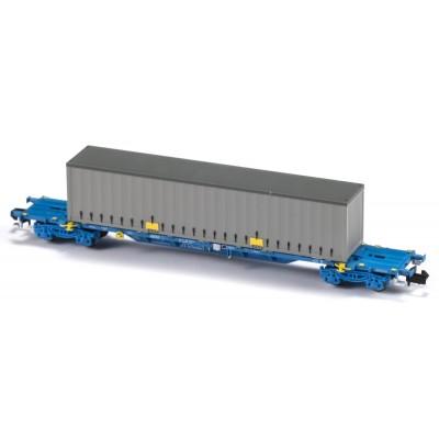 VAGON MF TRAIN N33405 -PORTACONTENEDORES MMC3E SGNSS COMSA - ESCALA N