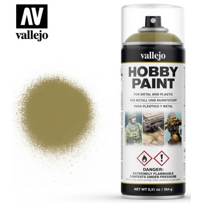 SPRAY HOBBY PAINT DUNKELGELB 400ml - ACRILICOS VALLEJO 28001