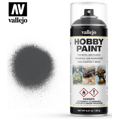 SPRAY HOBBY PAINT DUNKELGRAU 400ml ACRILICOS VALLEJO 28002