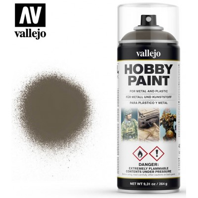 SPRAY HOBBY PAINT US VERDE OLIVA 400ml ACRILICOS VALLEJO 28005