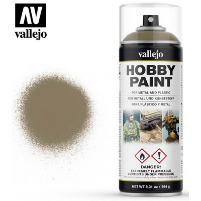 SPRAY HOBBY PAINT MARRON CAQUI 400ml ACRILICOS VALLEJO 28009