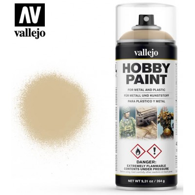 SPRAY HOBBY PAINT BLANCO HUESO 400ml ACRILICOS VALLEJO 28013