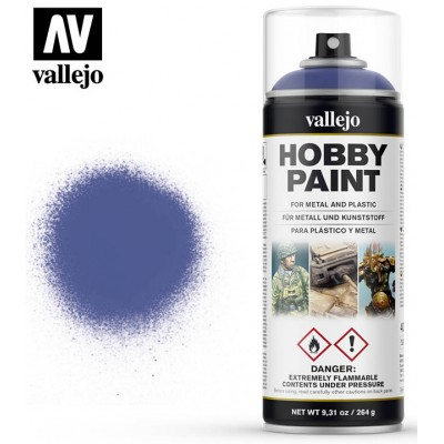 SPRAY HOBBY PAINT AZUL ULTRAMAR 400ml ACRILICOS VALLEJO 28017