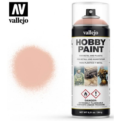 SPRAY HOBBY PAINT CARNE PALIDA 400ml ACRILICOS VALLEJO 28024