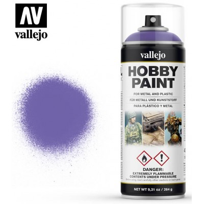 SPRAY HOBBY PAINT PURPURA ALIENIGENA 400ml ACRILICOS VALLEJO 28025