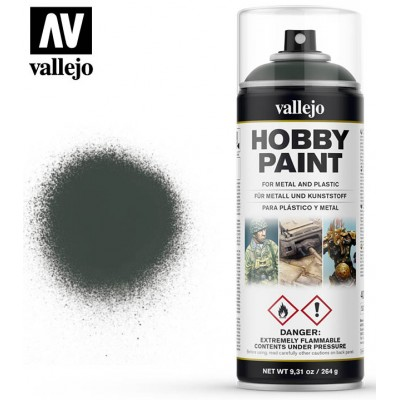 SPRAY HOBBY PAINT VERDE OSCURO 400ml ACRILICOS VALLEJO 28026