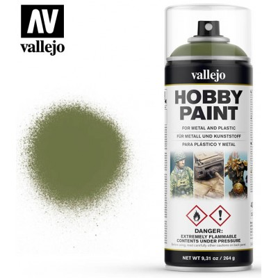 SPRAY HOBBY PAINT VERDE GOBLIN 400ml ACRILICOS VALLEJO 28027