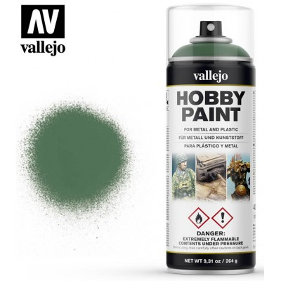 SPRAY HOBBY PAINT VERDE ASQUEROSO 400ml ACRILICOS VALLEJO 28028