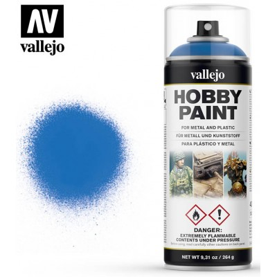 SPRAY HOBBY PAINT AZUL MAGICO 400ml ACRILICOS VALLEJO 28030