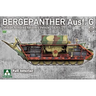 CARRO DE RECUPERACION Sd.Kfz. 179 Ausf. G BERGEPANTHER 1/35 - Takom 2107