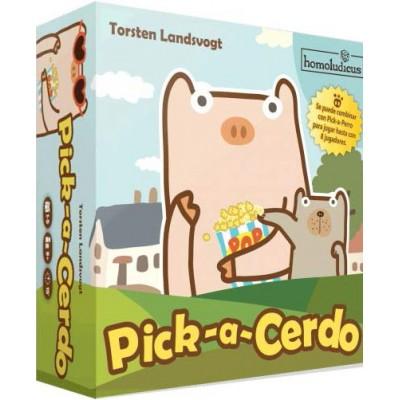 Juego de cartas: PICK A CERDO