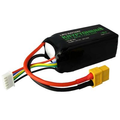 BATERIA LIPO 14.8V 1350maH 30c CONECTOR XT-60 - YUKI MODEL 801309