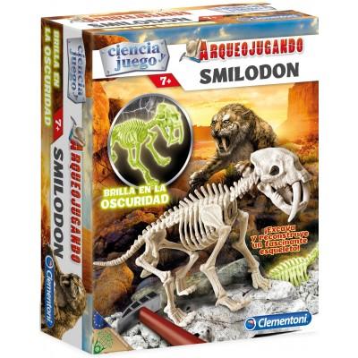 ARQUEOJUGANDO SMILODON - CLEMENTONI 55034
