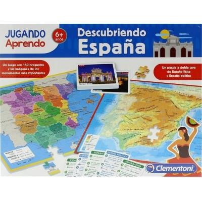 PUZZLE MAPA GEO DESCUBRE ESPAÑA - CLEMENTONI 55119