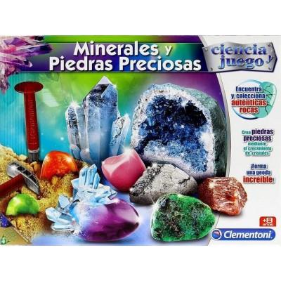 MINERALES Y PIEDRAS PRECIOSAS - CLEMENTONI 95566