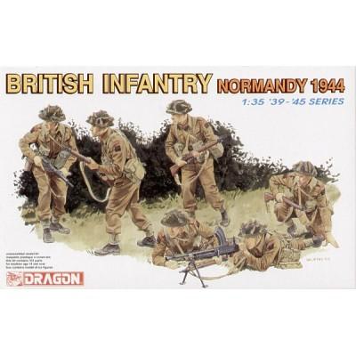 INFANTERIA BRITANICA (NORMANDIA 1.944) - ESCALA 1/35 - DRAGON MODELS 6212