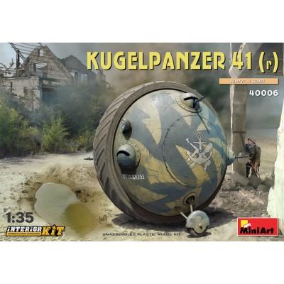 CARRO DE COMBATE BOLA Kugelpanzer 41(r) - 1/35 - MiniArt 40006