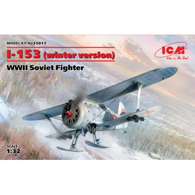 POLIKARPOV I-153 CHAIKA (Version Inveral) 1/32 - ICM32011