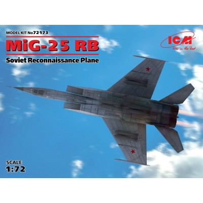 MIKOYAN GUREVICH MIG-25 RB Foxbat 1/72 - ICM 72173