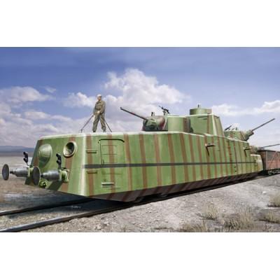 DRESINA BLINDADA MBV-2 (Cañones L-11 late) - Hobby Boss 85515