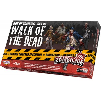 ZOMBICIDE WALK OF THE DEATH - BOX OF ZOMBIES - SET 1
