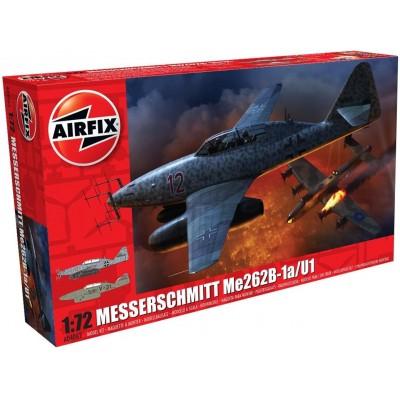 MESSERSCHMITT ME-262 B-1a 1/72 - Airfix A04062