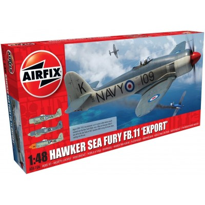 HAWKER SEA FURY FB.11 -Export- 1/48 - Airfix A06106A