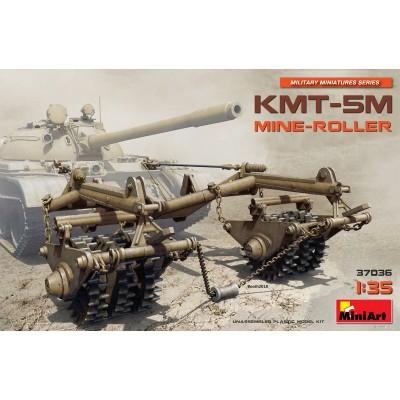 RODILLO DESMINADOR KMT-5M 1/35 - MiniArt 37036