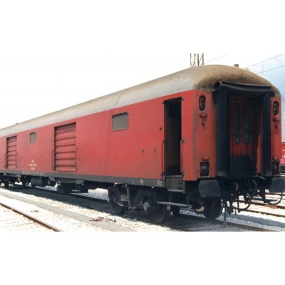 FURGON EQUIPAJES RENFE ROJO DD-8180 - ESCALA H0 - ELECTROTREN 5228-1