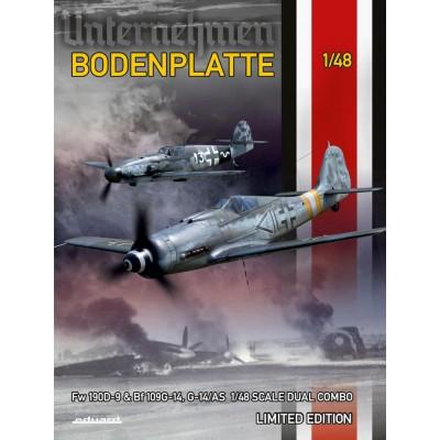 OPERACION BODENPLATTE - Focke Wulf Fw-190 D9 & Messerschmitt Bf-190 G14- 1/48 - Eduard 11125