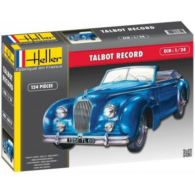 TALBOT LAGO REKORD (1950) 1/24 - Heller 80711